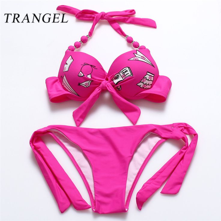 Find More Bikinis Set Information about Trangel Bikinis women sexy beach swimwear Push up ladies underwear top swimsuits low waist solid color monokini panties biquinis,High Quality panties short,China panties corset Suppliers, Cheap panties silicone from Trangel Official Store on Aliexpress.com