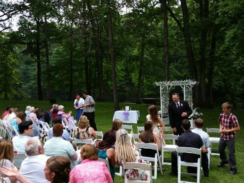 oak openings metropark ceremony location with our silent power generators