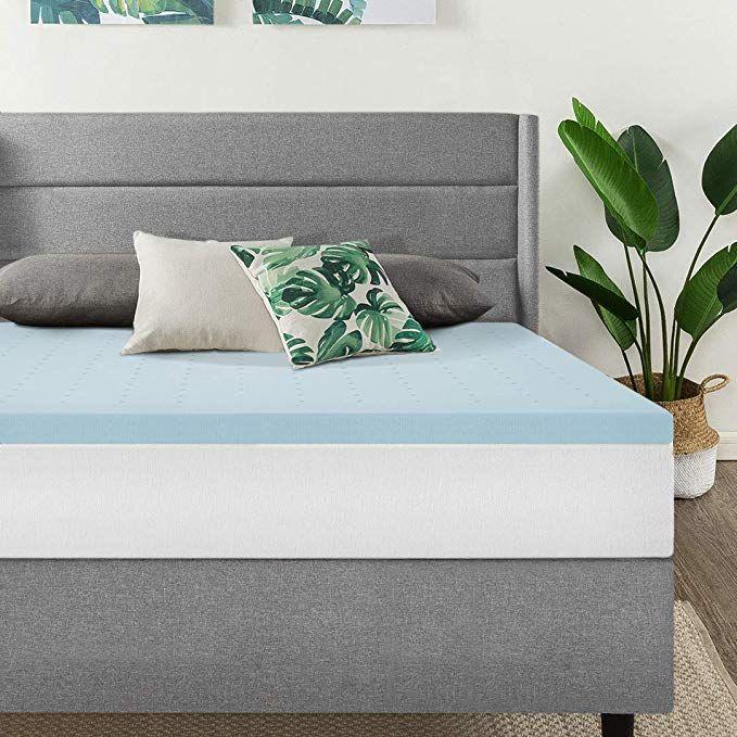 Amazon Com Best Price Mattress Twin Mattress Topper 1 5 Inch Gel Memory Foam Bed Topper With Foam Sofa Bed Cooling Mattress Pad Memory Foam Mattress Topper