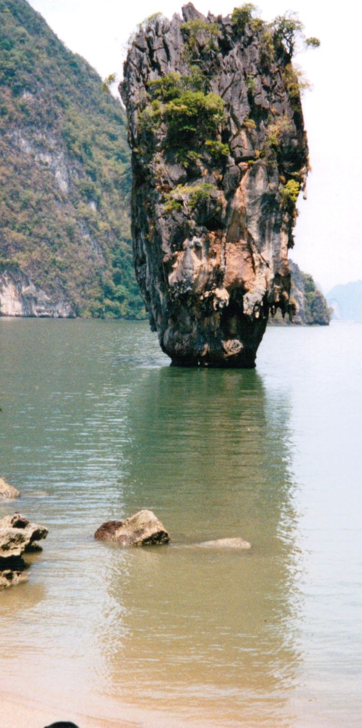 "Looking from ""James Bond Island"" at The Nail"