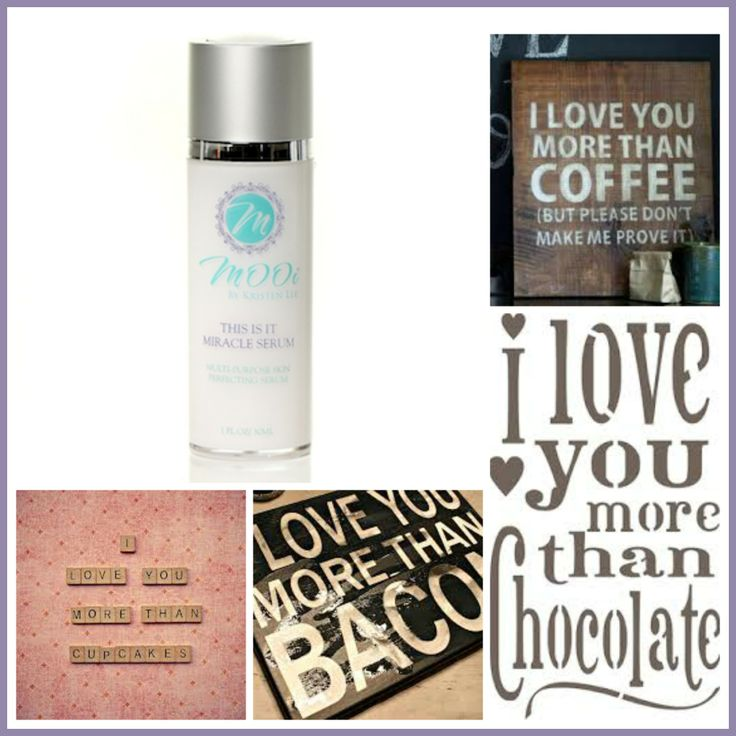 As women, we love all things food <3  But MOOi is going to make a wager than you LOVE THIS IS IT MIRACLE SERUM more than it all <3  Yes, flawless skin beats coffee, don't you agree?  Shop online 24/7 with FREE Shipping over $75CAD and $10 flat rate USA   www.mooibykristenlee.com