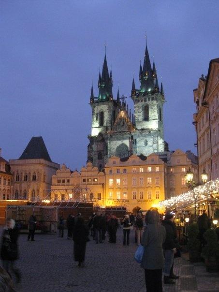 Prague, Time Square