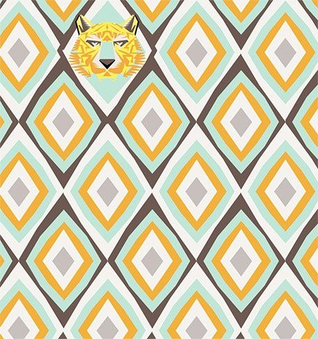 Djeco ~ Wall Paper ~ Savannah