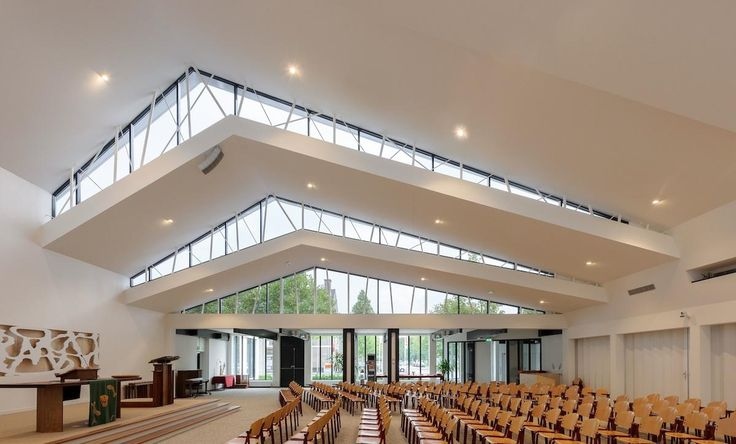 Church De Bron, in Amersfoort NL by Bureau MT.