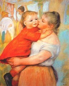 Aline and Pierre - (Pierre-Auguste Renoir)