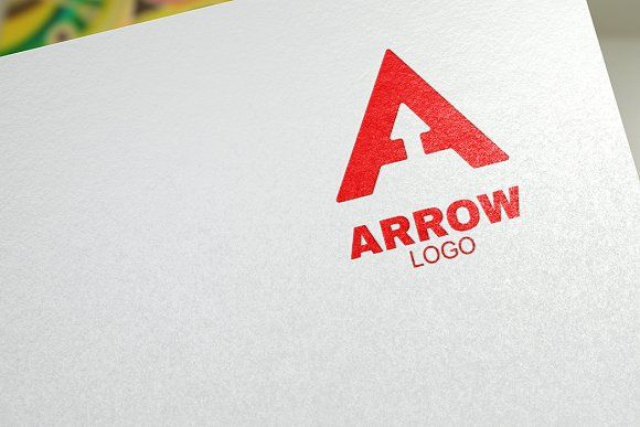 Arrow Logo Template Templates A modern and professional arrow logo template. All elements are fully vector and can be used for bot by Traint