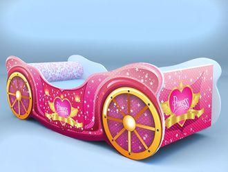 """Кровать карета """"Принцесса"""""""