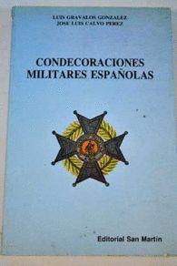 CONDECORACIONES MILITARES ESPAÑOLAS