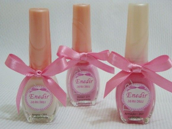 Personalized nail polish - Spa Party