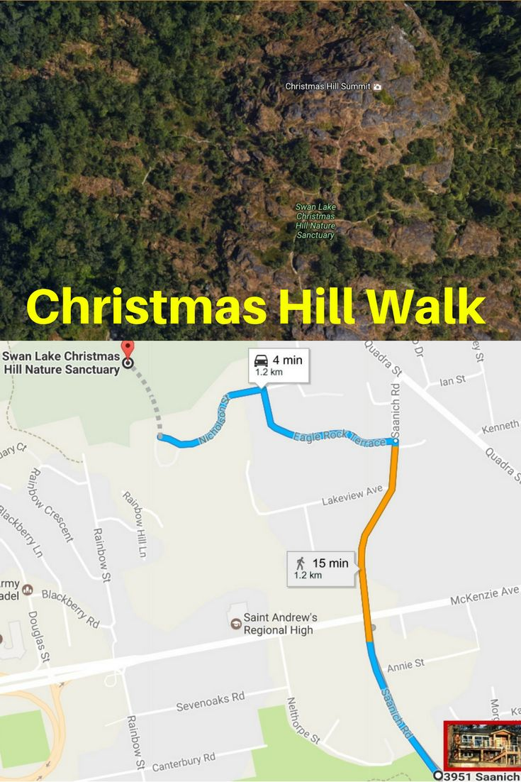 Christmas Hill Nature Park Trail Walk is