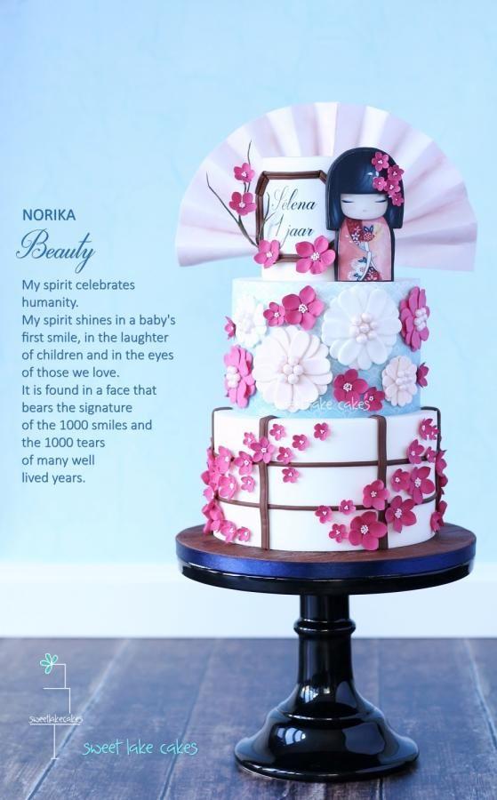 Kimmidoll cake: Norika - Cake by Tamara