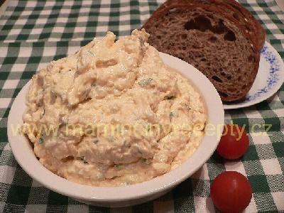Bryndzová pomazánka s vejci