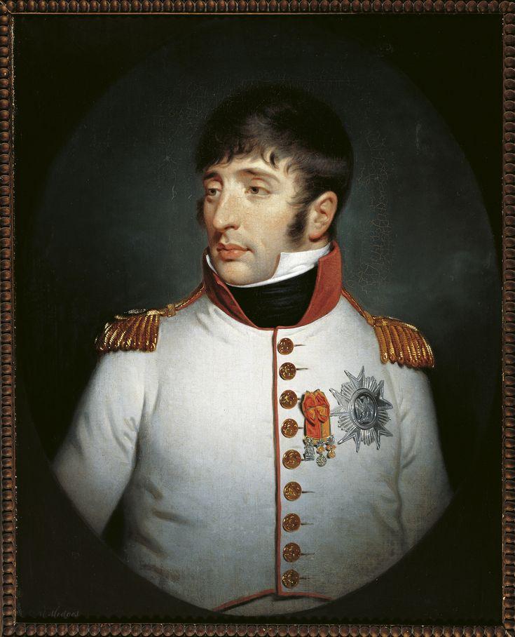 Portret van Lodewijk Napoleon, koning van Holland - Charles Howard Hodges