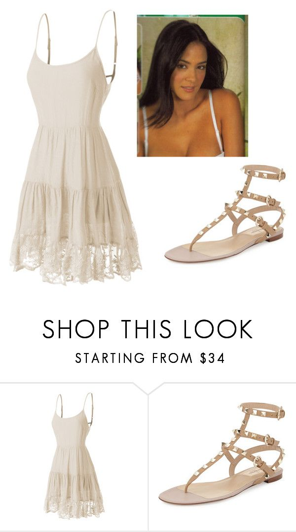 """love life"" by escarletmix14 on Polyvore featuring Belleza, LE3NO y Valentino"