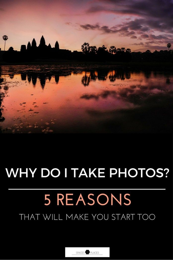 Do you feel not motivated or uninspired for taking your next shot? Head over http://www.spacesxplaces.com/ and find 5 of the best reasons to take more photographs!