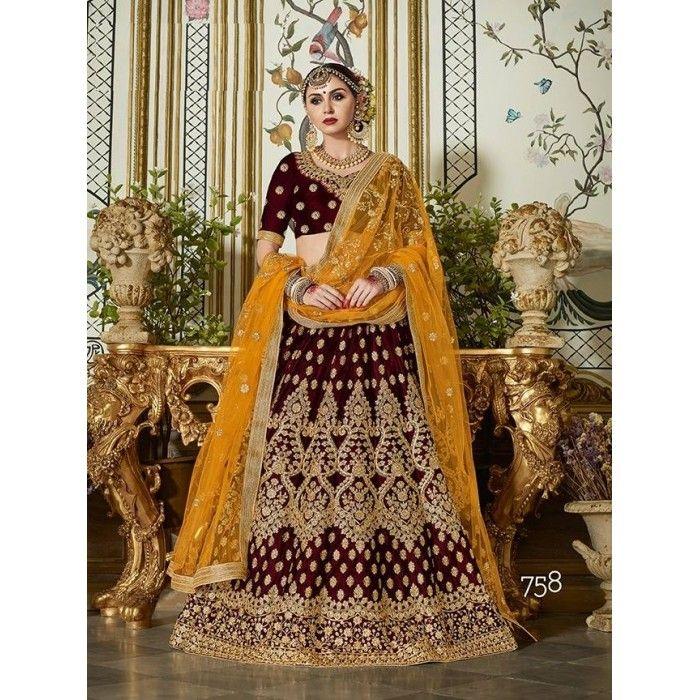 Exquisite Bridal Lehenga Choli - 16