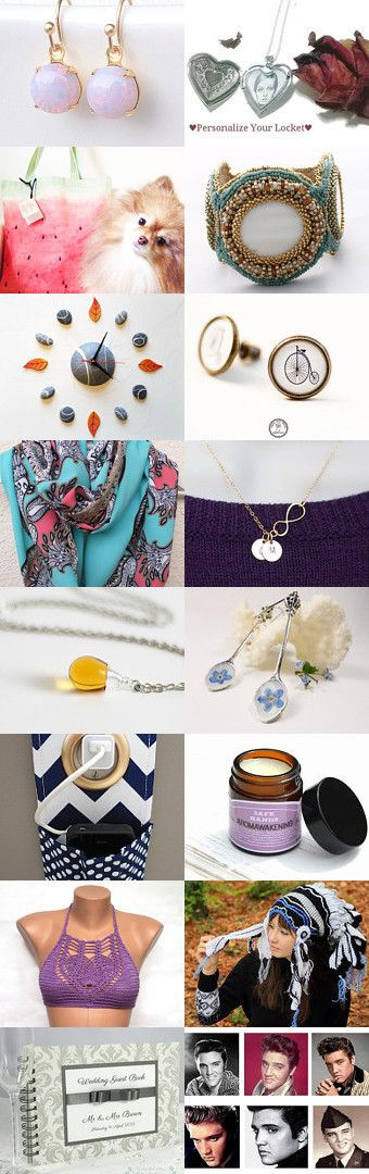 Perfect gifts ideas for everyone!  by Agnieszka Lonska on Etsy--Pinned with TreasuryPin.com