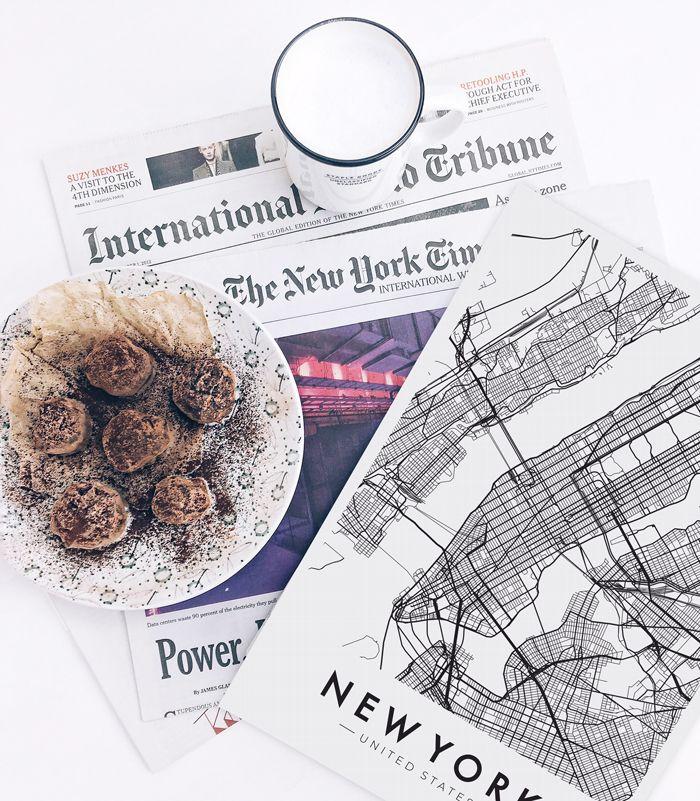New York Poster #poster #love #NY #paper #newpaper