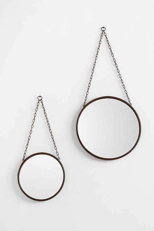 Industrial Wall Mirror - Urban Outfitters #mjwishlist