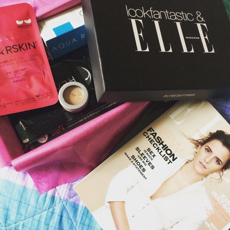 My favourite Beauty Box Ever! From @LookFantastic