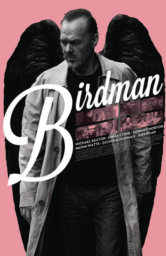 Birdman Film Poster by sap41387