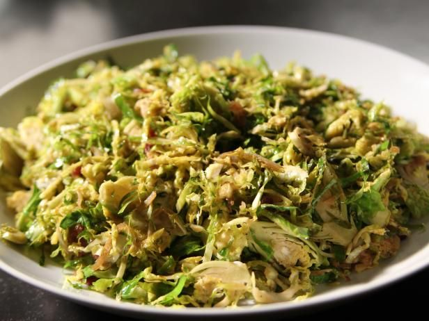 Shaved Brussels Sprouts With Pancetta Recipe Food Network