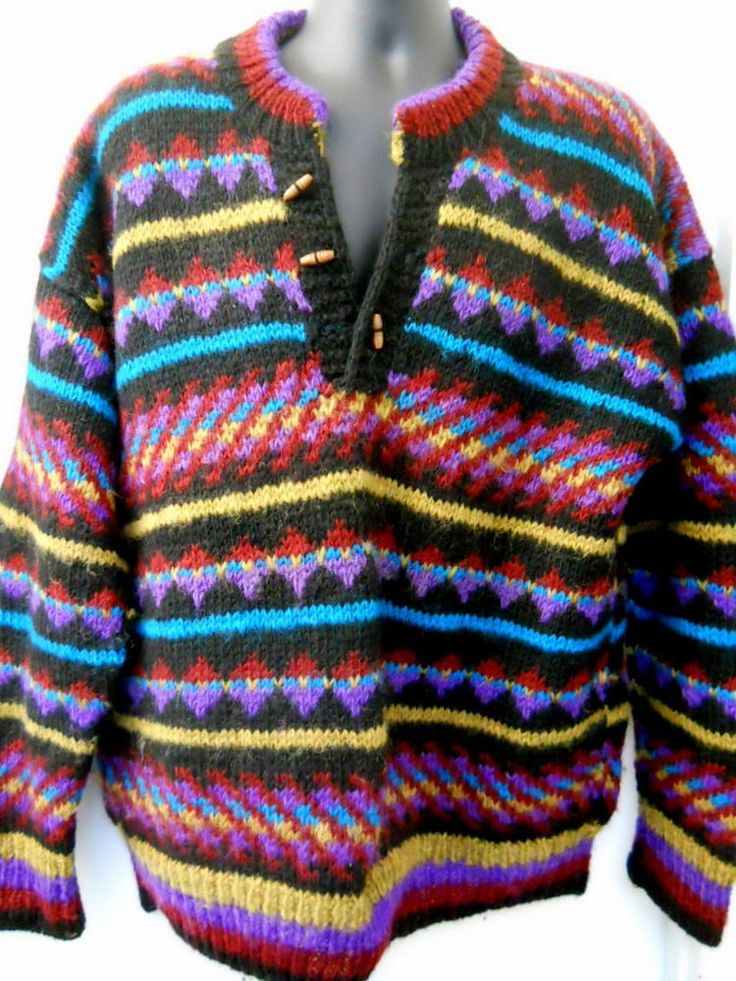 Details about The North Face Mens XL FUZZY Sweater ...