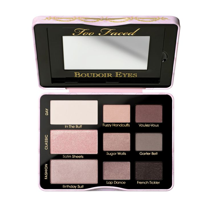 Our sexy eyeshadow palette offers nine paraben-free, soft and sultry shadow colors and a how-to guide to get you started. Find Too Faced Boudoir Eyes shadow collection online.