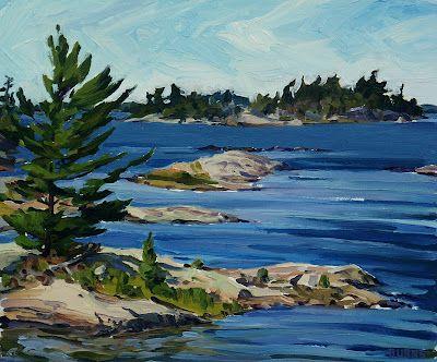 Burns Fine Art: Georgian Bay, # 5