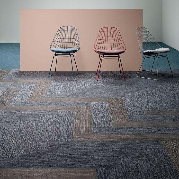 Forbo Tessera Seagrass Carpet Planks Carpet to tile