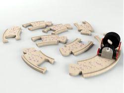 This concept reminds me of the beautiful 'suitcase symphony' concept :). Nice translation! Designer: Ricardo SeolaMetals Keys, Originals Soundtrack, Education Toys, Music Boxes, Soundtrack Graylabelkid, Sounds Track, Originals Sounds, The Originals, Kids Design