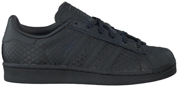 Zwarte Adidas Sneakers SUPERSTAR DAMES
