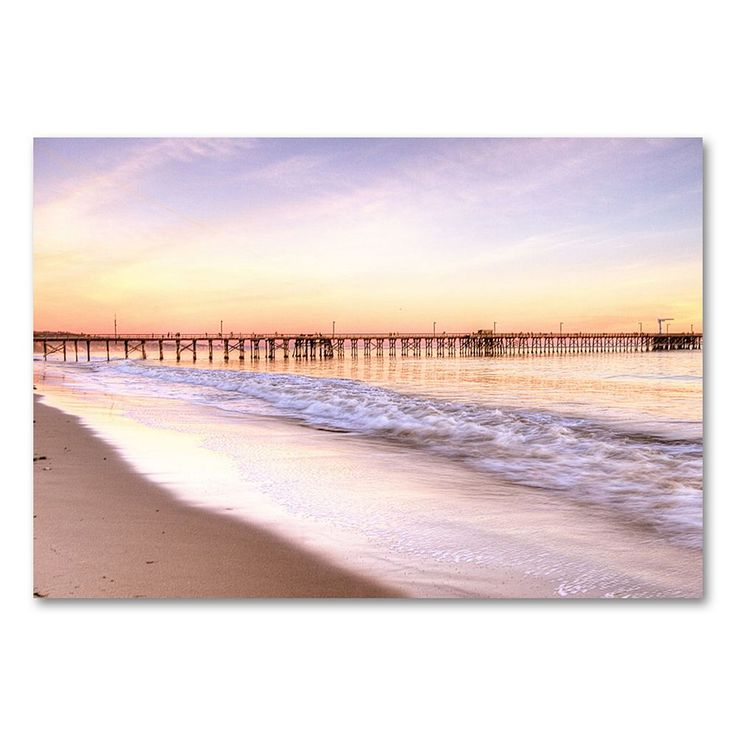 22'' x 32'' ''Santa Barbara'' Canvas Wall Art by Ariane Moshayedi, Beig/Green (Beig/Khaki)