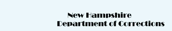 New Hampshire Department of Corrections Book List