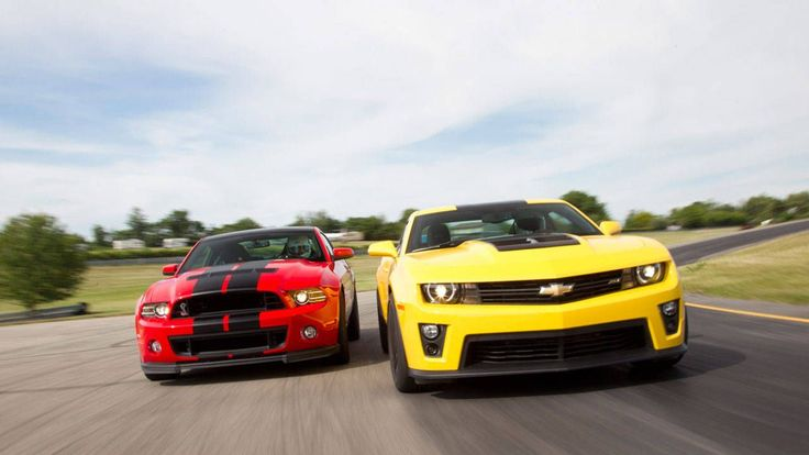 2013 Ford Mustang Shelby GT500 vs. 2012 Chevrolet Camaro ZL1