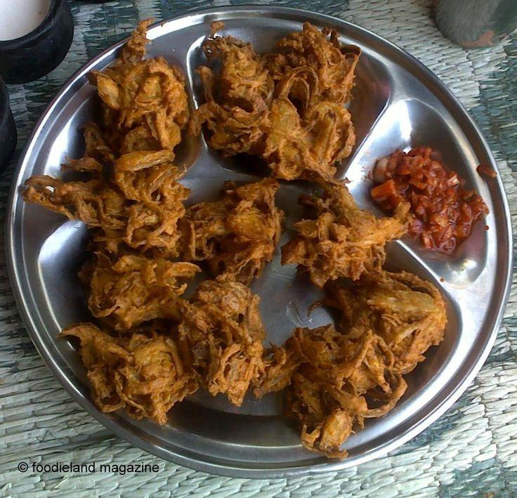 Kanda Bhajji - Onion Fritters