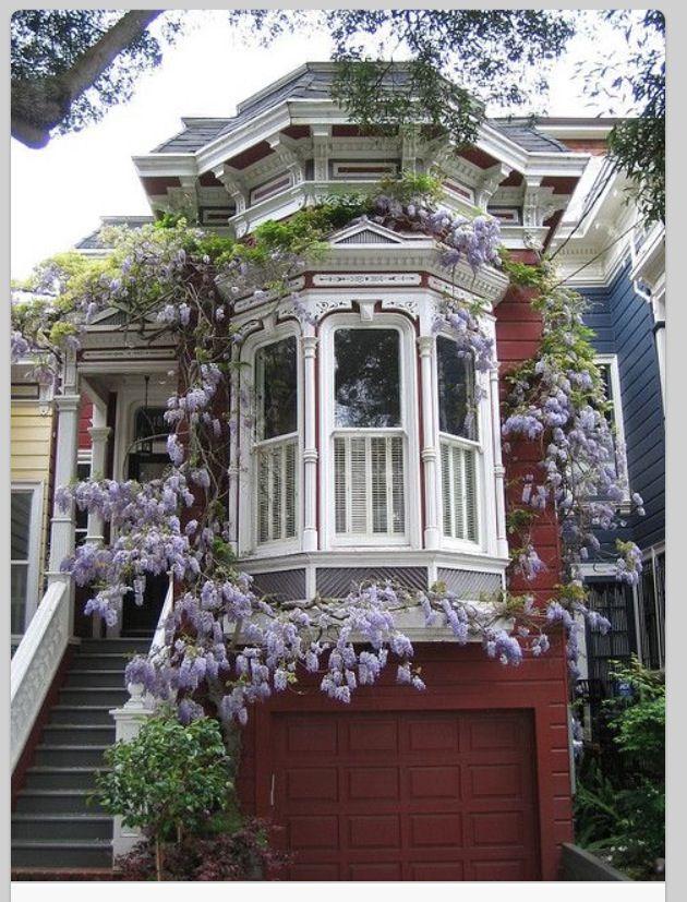 san francisco dream house exteriors maison victorienne. Black Bedroom Furniture Sets. Home Design Ideas