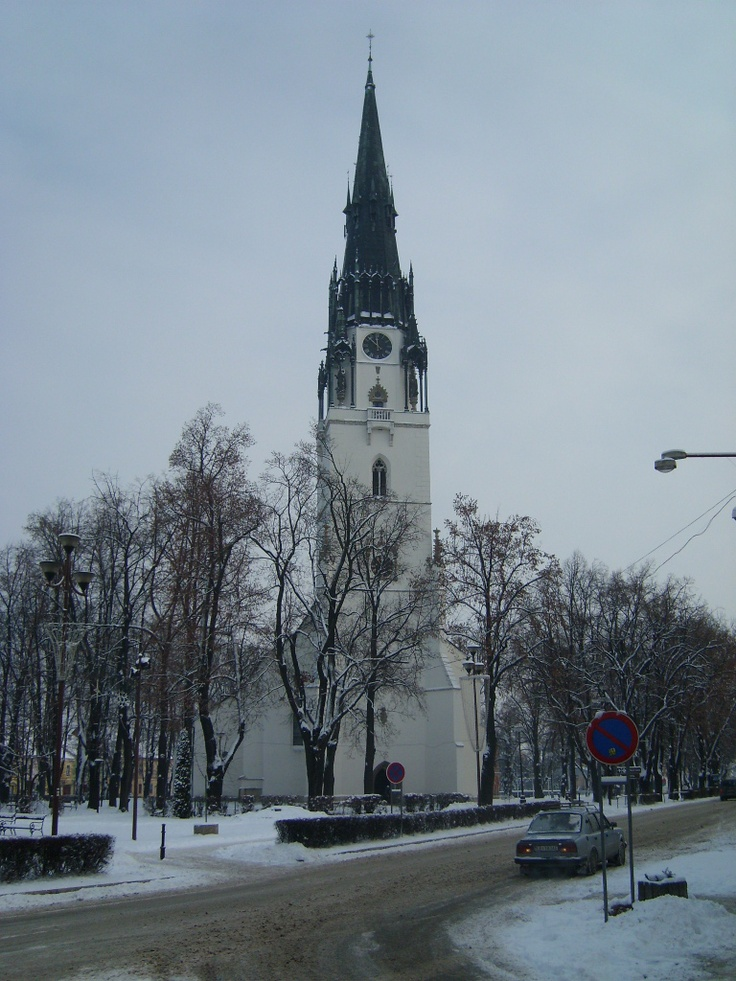 Slovakia, Spišská Nová Ves - Parish Church
