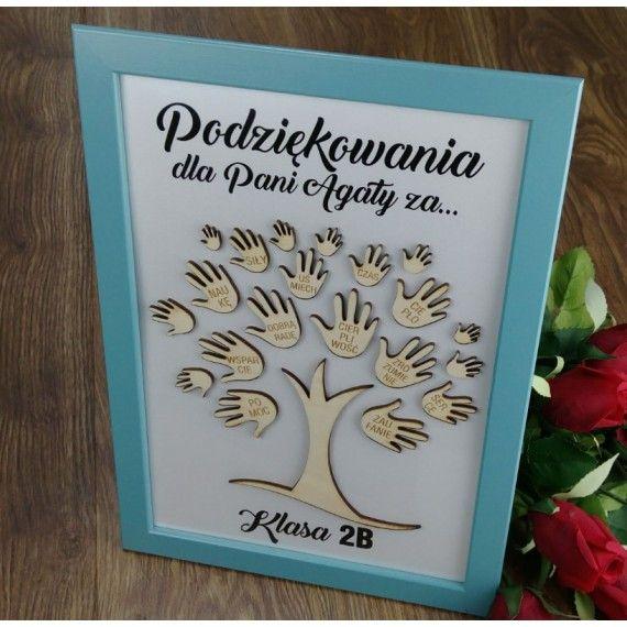 Podziekowania Dla Nauczyciela Drzewko Diy And Crafts Crafts Gifts
