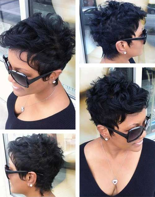 20 Short Hairstyles For Wavy Hair Short Pixie Pixies