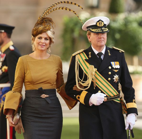 Princess Maxima Photos - The Wedding Of Prince Guillaume Of Luxembourg & Stephanie de Lannoy - Official Ceremony - Zimbio