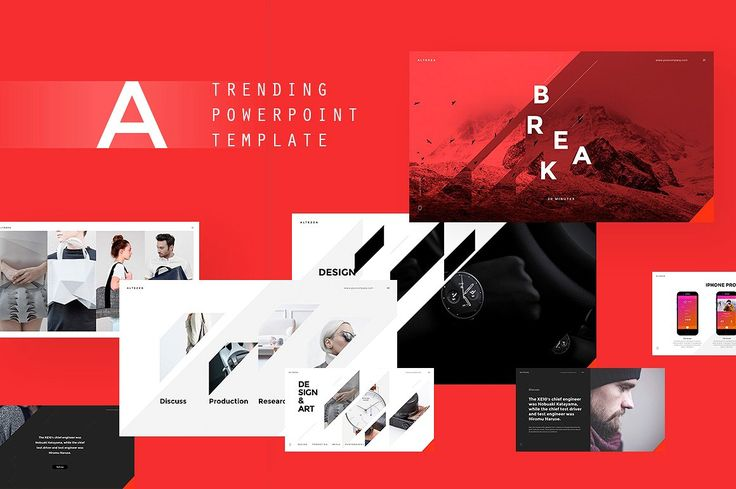 ALTEZZA PowerPoint Template - Presentations - 1