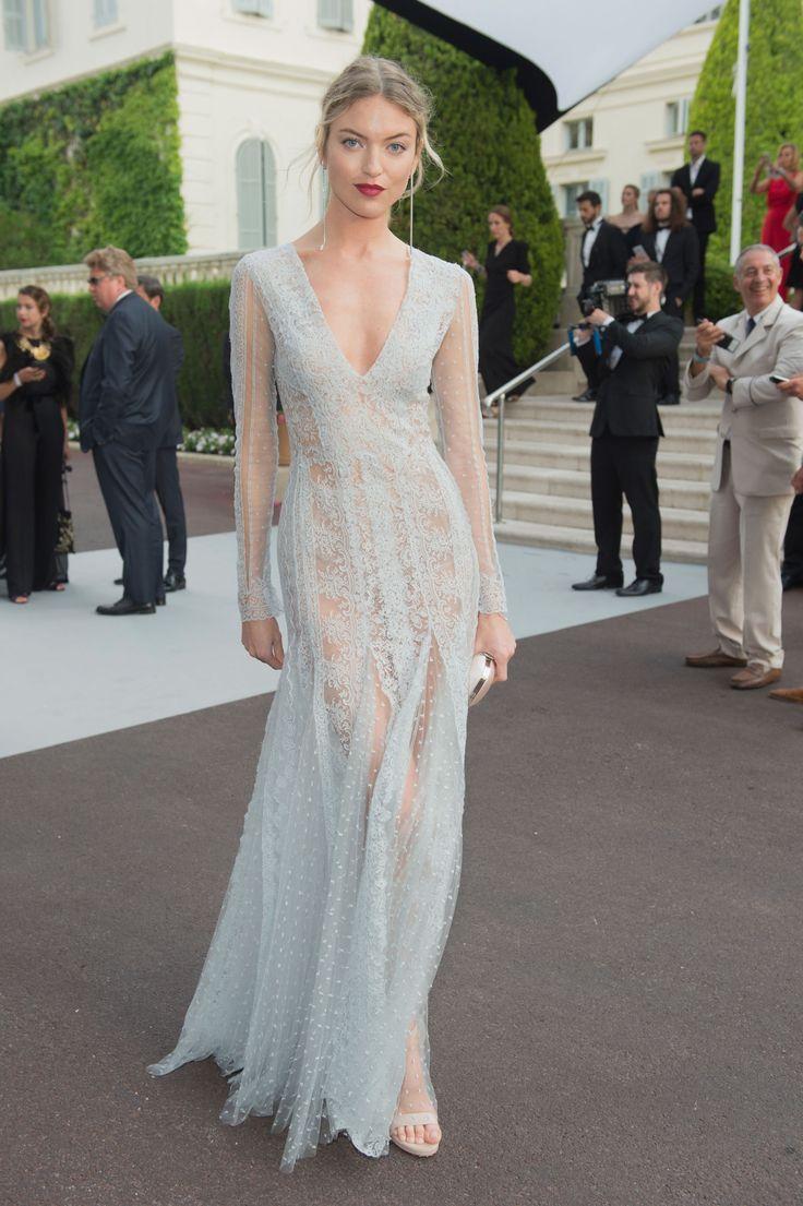 Martha Hunt - amfAR Gala in Cannes 2017