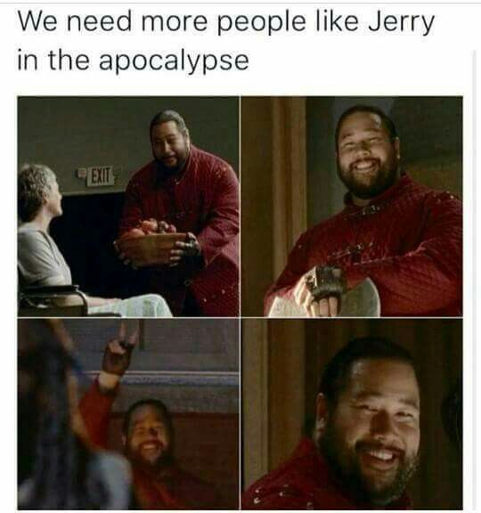 Please don't let Jerry have a gooey death :(