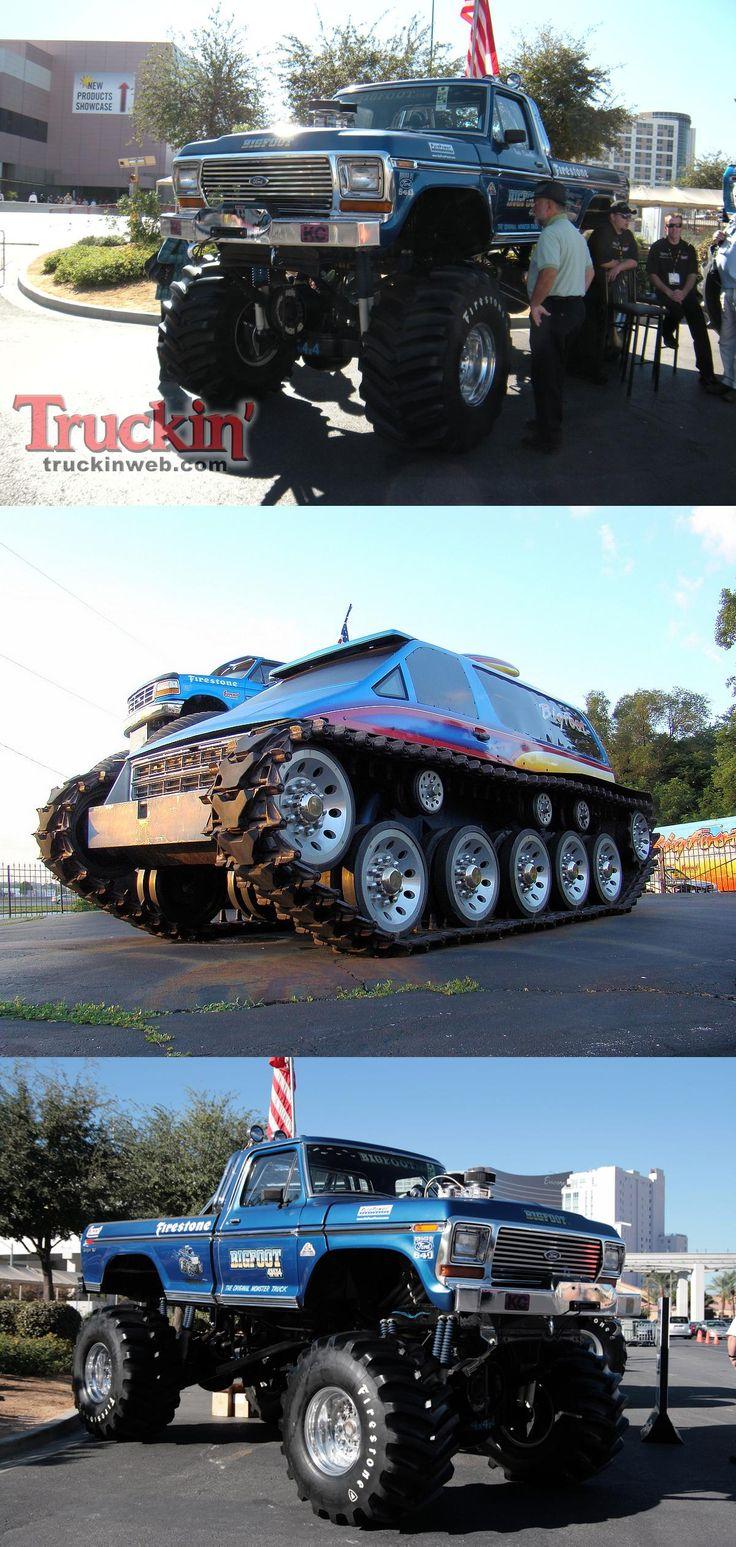 Bigfoot monster truck legend