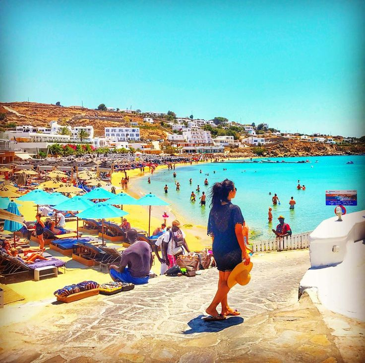 Hello from India ❤️ Came with lodss of memories, shopping, tanning & above all Adventures 💙💙 Still in European hangover😈 #beach #beachlife #mykonos #mykonos2017 #greece #europe #delhibloggers #indiantravelblogger #travelbloggers #potd #igers #jaipur #blogger #dubai #india #bangkok #travel #traveldiaries