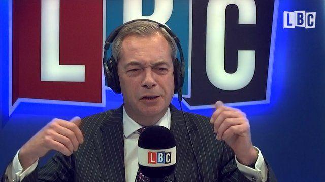 Nigel Farage Disgruntled