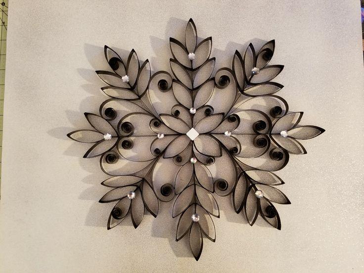 Paper towel wall art