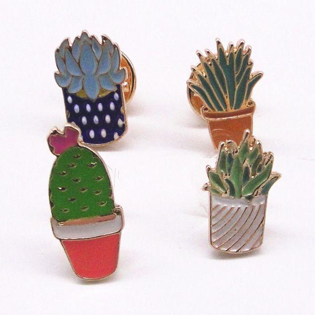 Европа Сша внешней торговли ювелирных изделий оптом департамент лесного хозяйства прекрасный кактус растения брошь