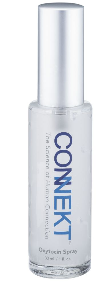 Evoke confidence, lasting impressions and connections. Connekt is a specially formulated oxytocin spray for all, which seamlessly pairs with your favorite fragrance. Wear Connekt and be your true, uninhibited self.  • Enhance Personal Relationships  • Strengthen Workplace Bonds  • Improve Confidence  • Increase Positive Self-Awareness  • Experience More Empathy